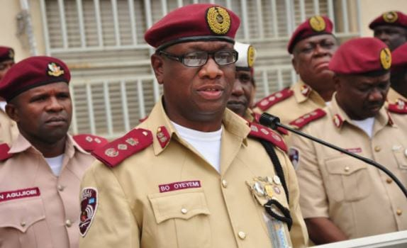 FRSC boss mourns, prays for repose of COAS, other souls