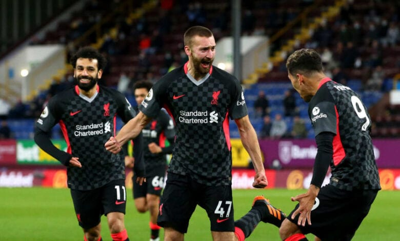 Liverpool move into EPL top-4 after whipping Burnley at home