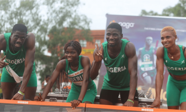 Mixed 4x400m relay team misses final, but creates new ...