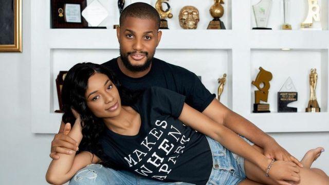 Actor Alex Ekubo, fiancee, Fancy Acholonu spark break up rumours