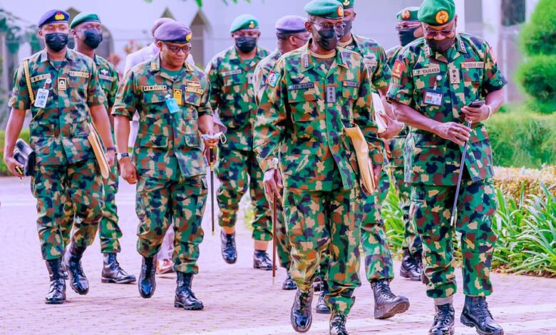 Without security, nothing will happen ..., says Buhari at security meeting